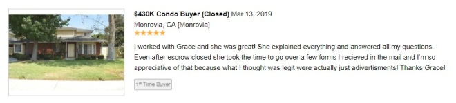 review from redfin 031319